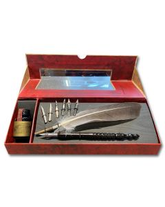 Feather Quill & Ink Set
