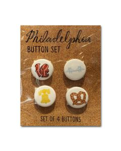 Philly Icon Button Set