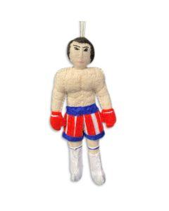 Rocky Balboa Felt Ornament