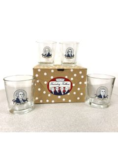 Founding Fathers Whiskey Glass Set