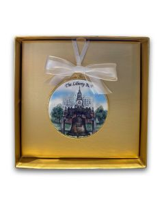 Independence Hall & Liberty Bell Ornament