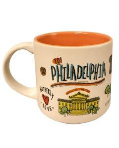 Philadelphia Cityscape Mug