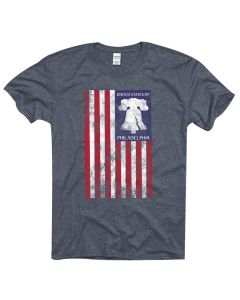 Adult Liberty Bell Flag Tee
