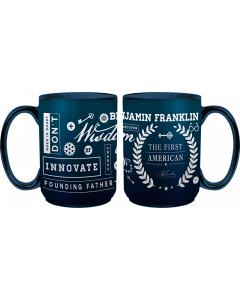 Ben Franklin Collage Mug
