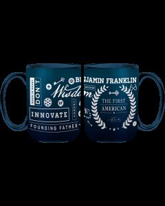 Ben Franklin Collage Mug