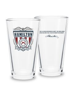 Hamilton Pint Glass