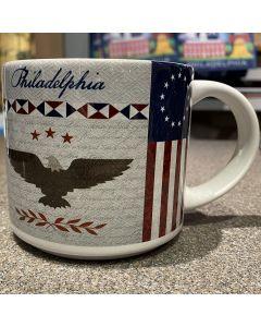 Philly Patriotic Quilt Mug