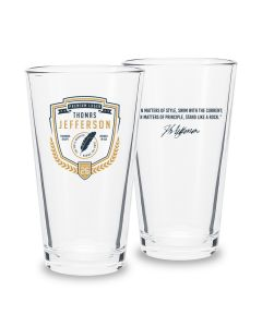 Jefferson Pint Glass