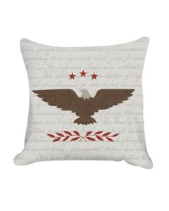 Philly Patriotic Quilt Pillow