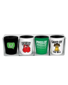 Philly Shot Glasses (Set of 4)