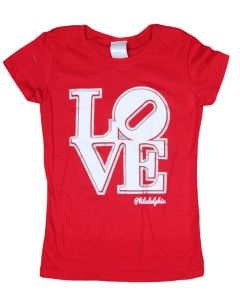 Girls Red LOVE Tee