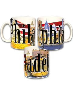 Full Color Philadelphia Mug