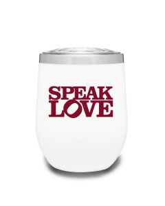 Speak Love Tumbler