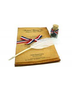 Parchment Stationery Set