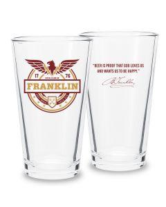 Franklin Pint Glass