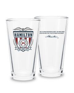 Hamilton Pint Glass
