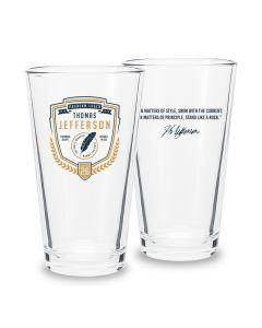 Jefferson Pint Glass