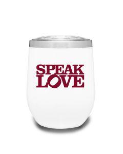 Speak Love Tumbler